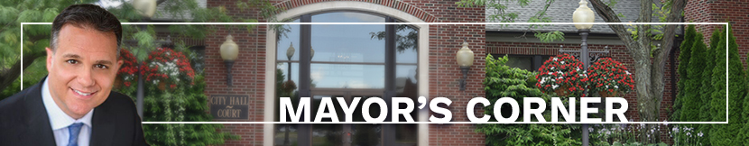 Mayor's corner button