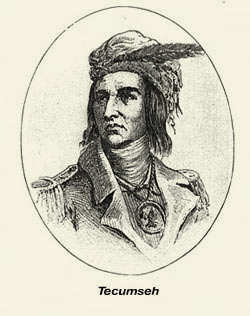 Portrait of Tecumseh