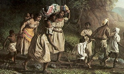 Painting of slaves