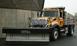dump truck with shovel