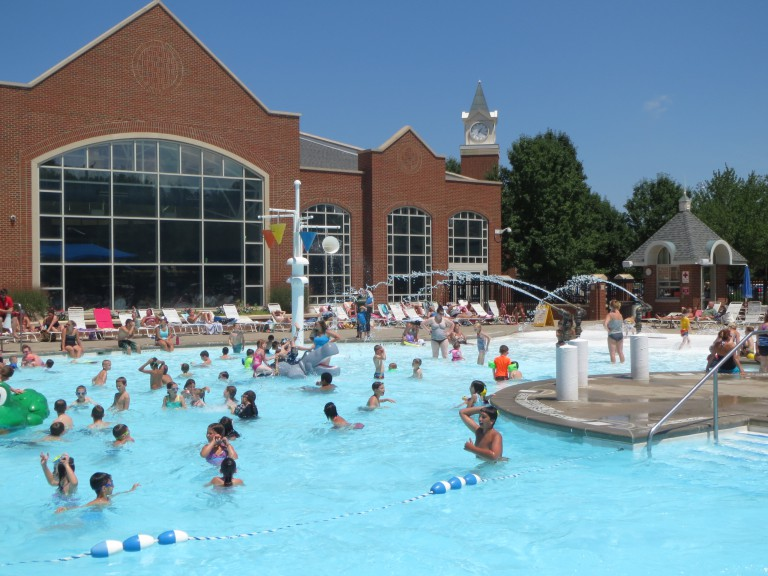 recreation center outdoor pool