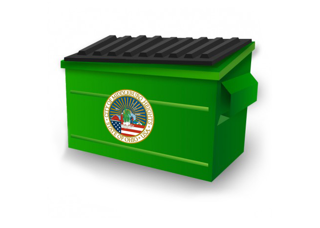 picture of a dumpster