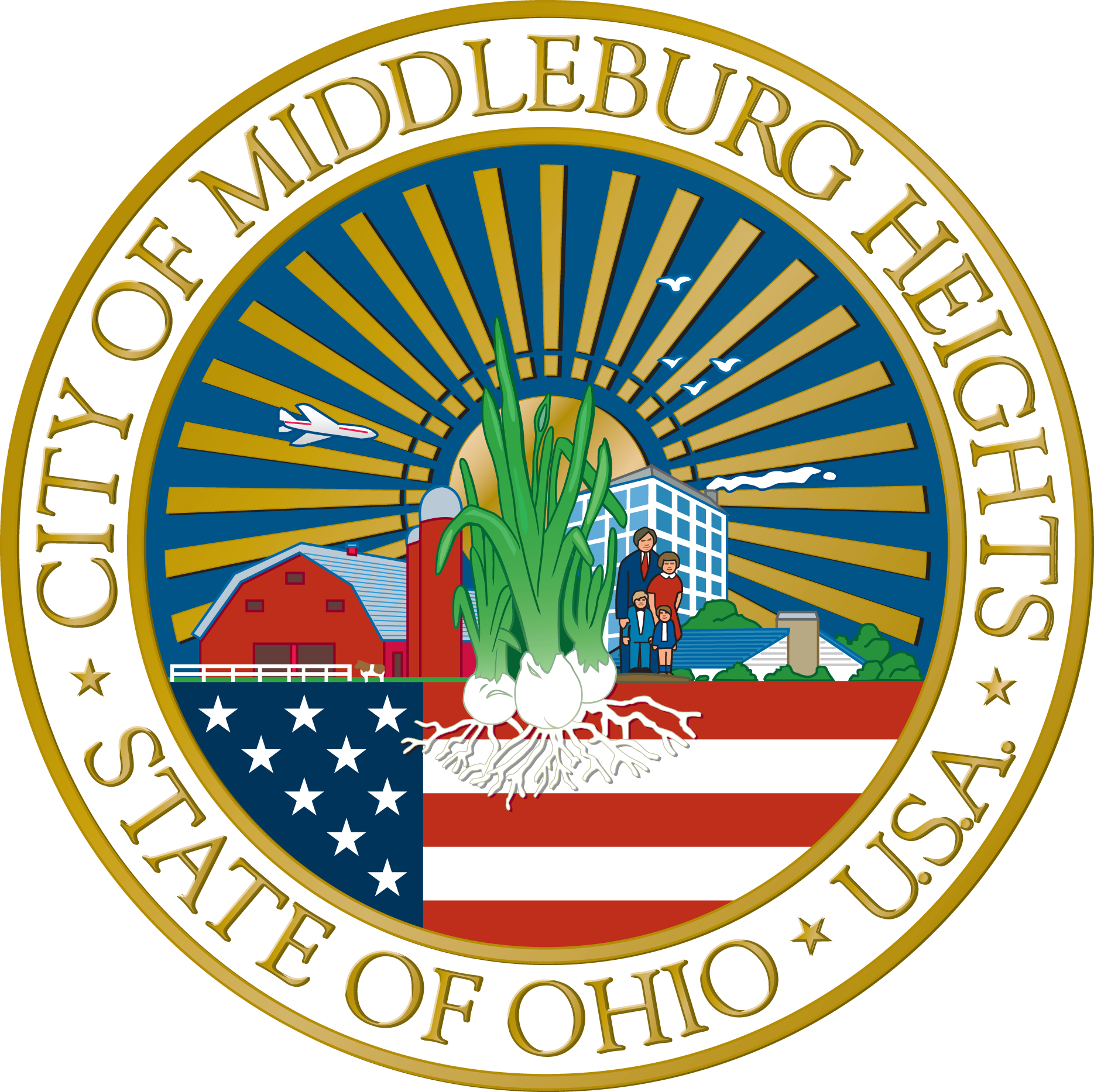 City of Middleburg Heights Ohio State seal