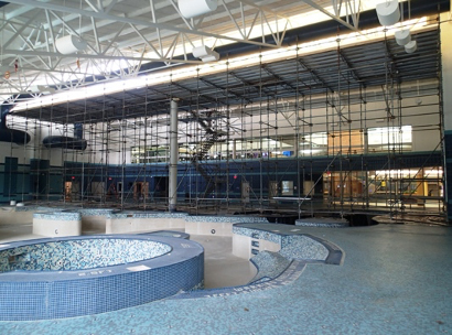Renovations of the Indoor Pool