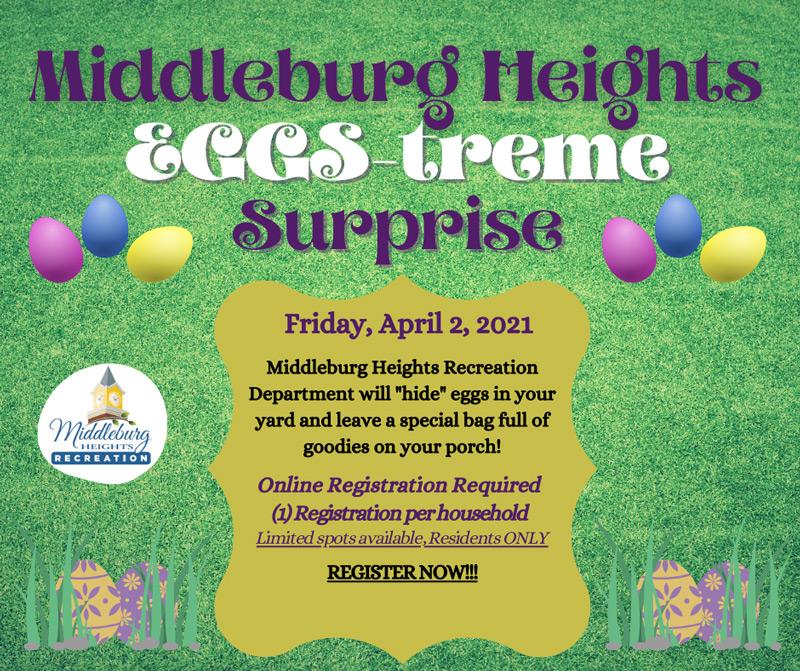Middleburg Heights EGG-streme 2021